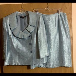 Kasper 2-piece skirt